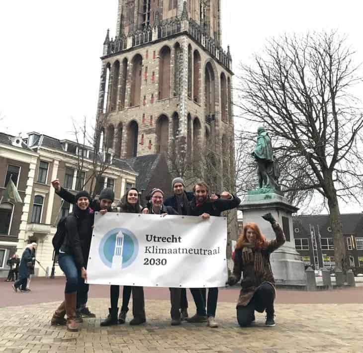 utrecht klimaatneutraal 2030 groepsfoto