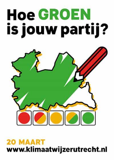 stemwijzer utrecht provinciale verkiezingen 2019 flyer